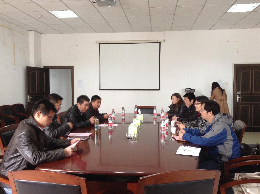 与中南财经政法大学工商管理学院领导和专家座谈-院长带队走访武汉